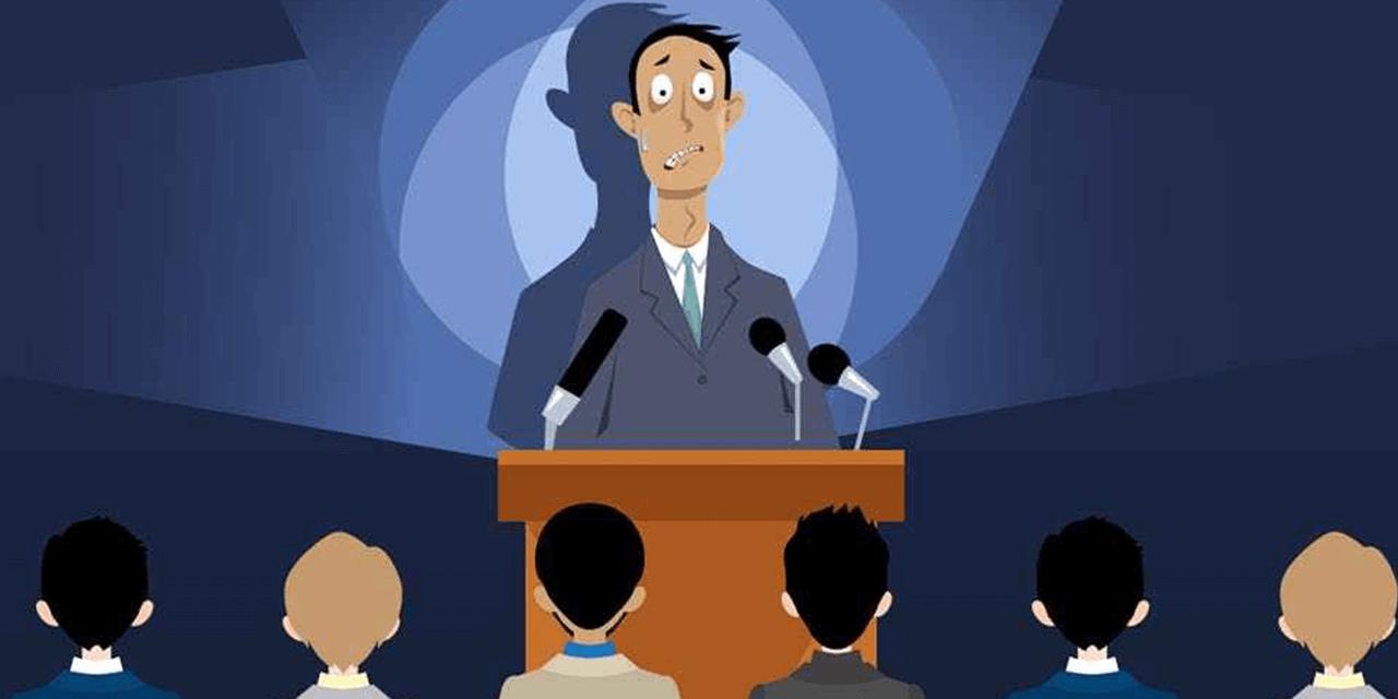 Five public speaking tips for people who fear public speaking