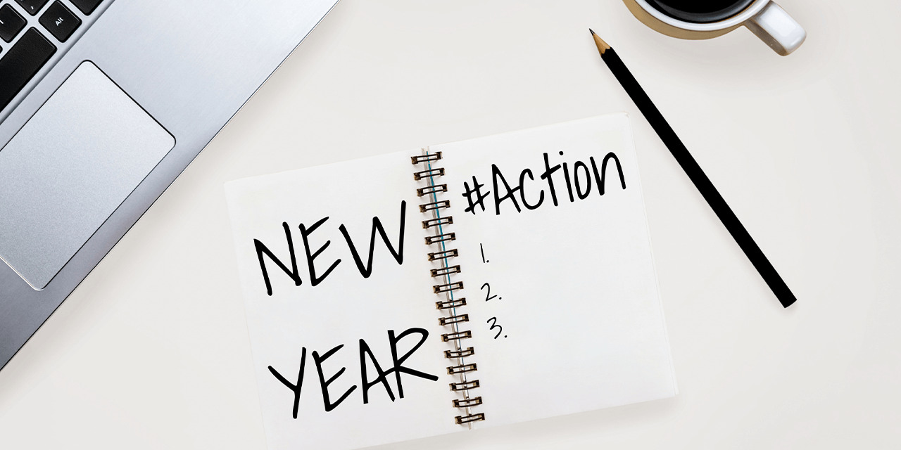 Five New Year's resolutions to make you more productive and less stressed